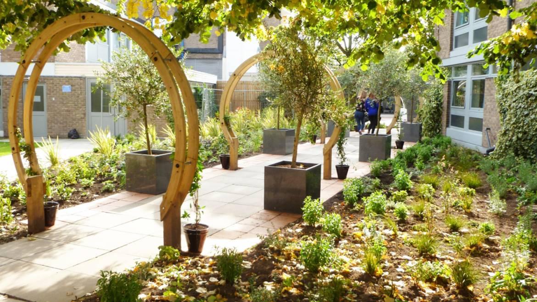 Communal Garden Walkway