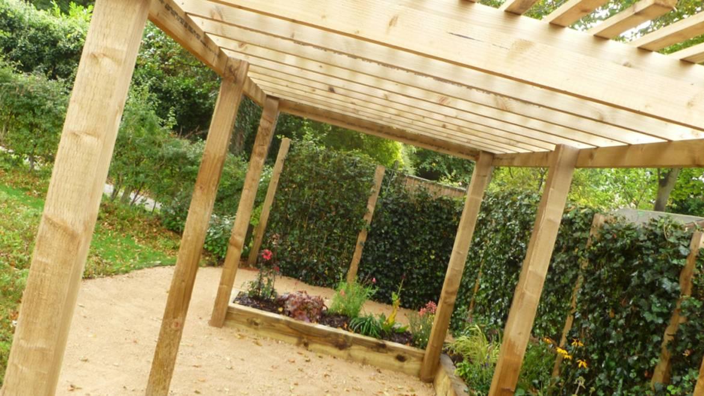 Wooden Garden Trellis